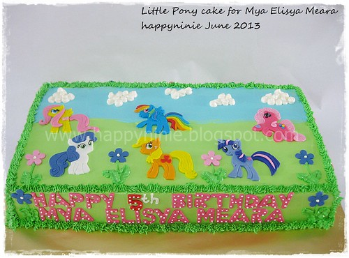 My little pony for mya