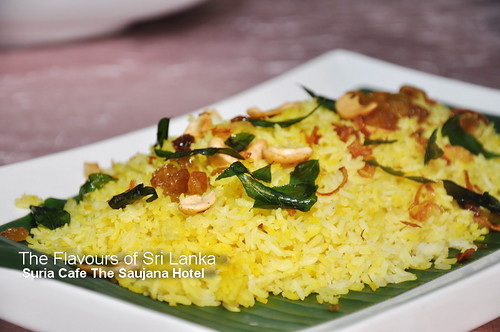 Flavours of Sri Lanka The Saujana Hotel 2