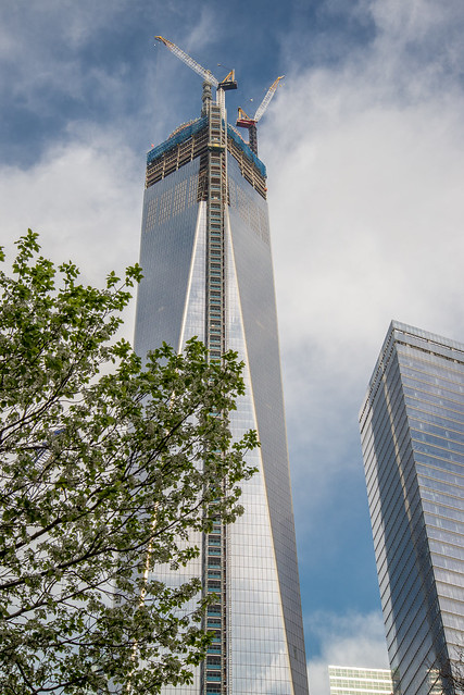 The new World Trade Center building in New York City HDR