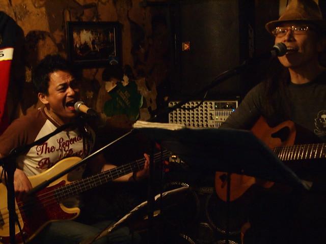 MACOTO & YOSHITAKA live at The Warrior Celt, Tokyo, 05 Jul 2013. 009