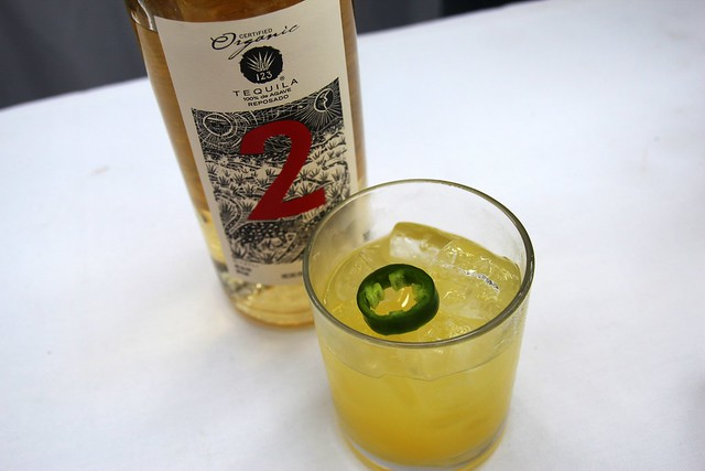 Tequila 123 Jalapeno margarita by Caroline on Crack
