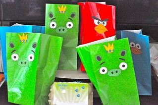 Angry Birds Favors Bags