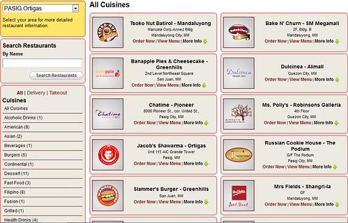 Foodie.ph Restaurants