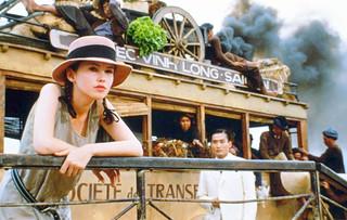 Cảnh trong film Nguoi Tình (Trên phà Mỹ Thuận)
