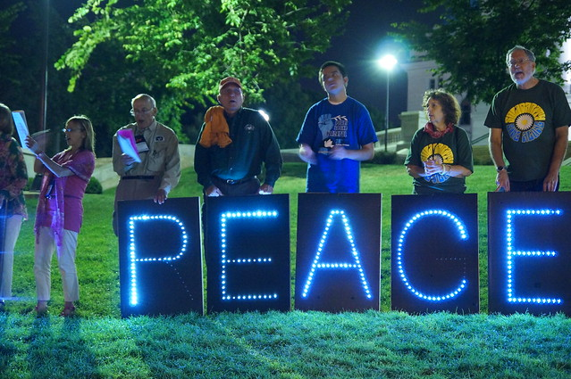 Peace on Capitol Lawn