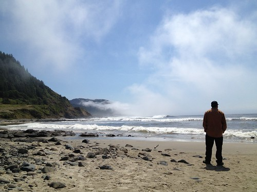Beach, South Coast, my husband