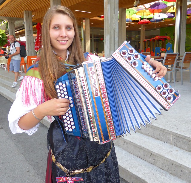 Slovenian Accordionist