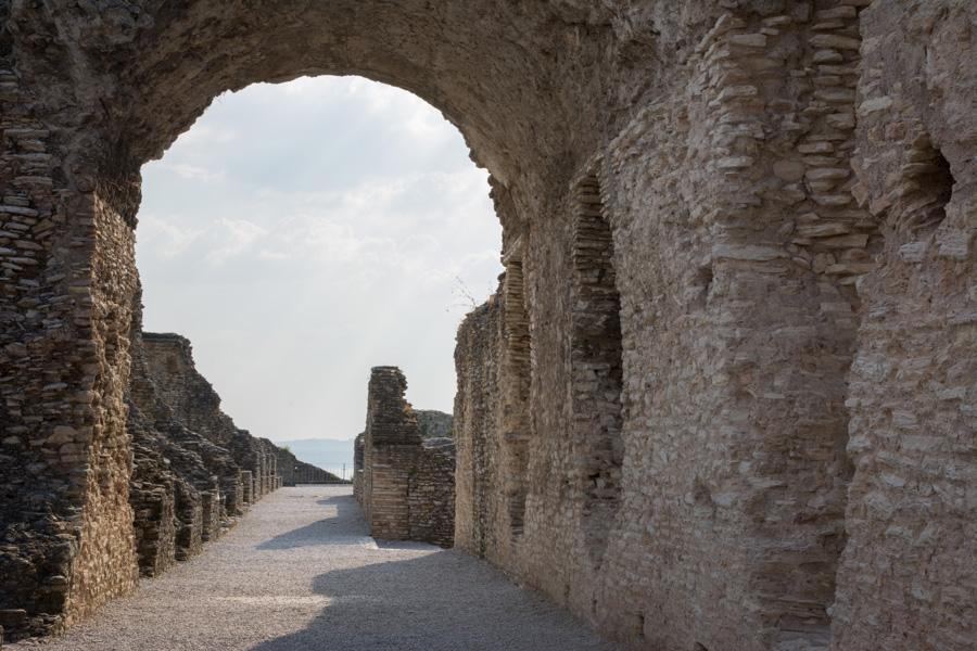 Sirmione ruins, Lake Garda Italy