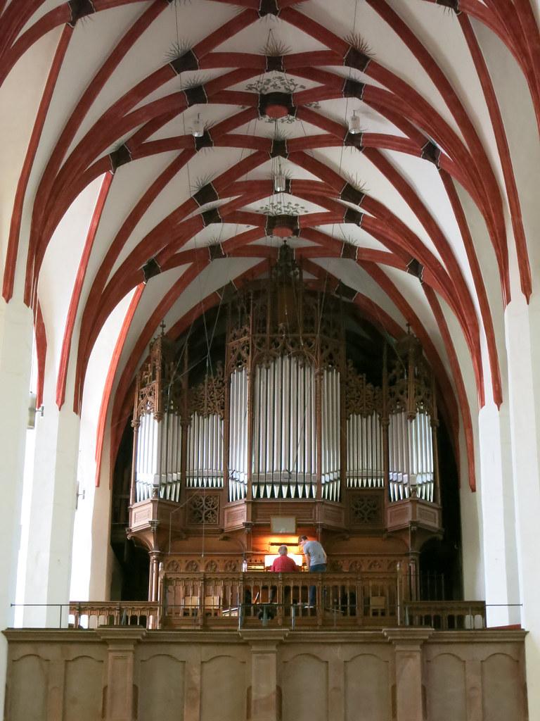 Organ recital in St. Thomas Church.