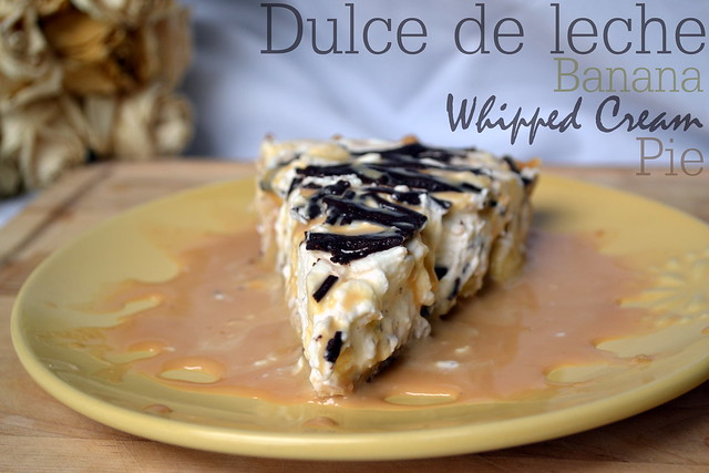 dulce de leche banana whipped cream pie