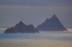 Little Skellig (Sceilig Bheag) and Skellig Michael (Sceilig Mhichíl)