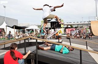 El skate también tiene un hueco entre las actividades.