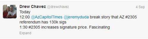 drew chavez tweet