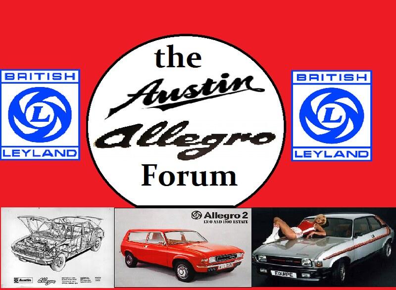 Austin Allegro Forum