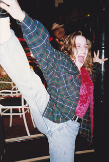 Marianne, last night party at Fat Sams, Wizard of Oz, June 1991
