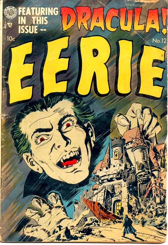 avon comics horror eerie 12 bram stoker dracula