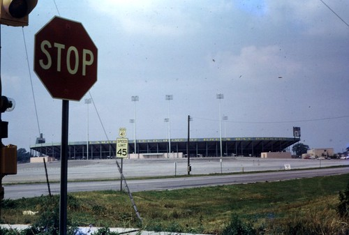 30 Lambeau Field in probably September of 1968