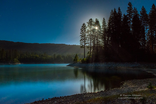light summer moon lake mountains stars glow sierra full fullmoon pines moonrise moonlight theforks basslake oakhurst darvin atkeson darv liquidmoonlightcom lynneal