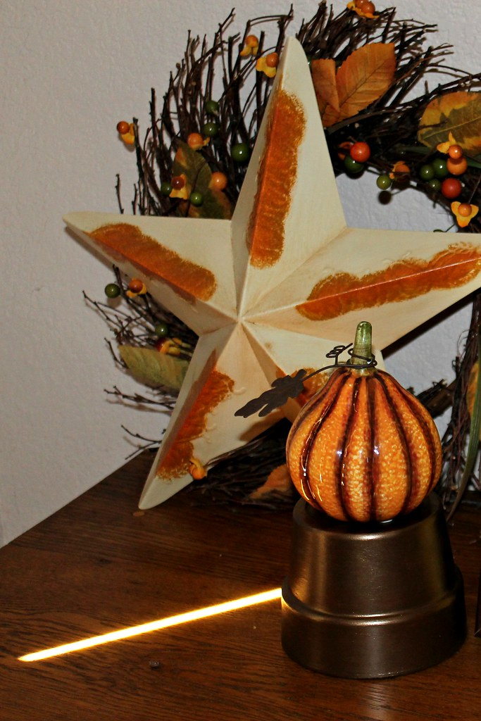 Fall 2013 - Pot - Wreath and Star