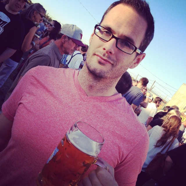 How NOT to cap off a whole 30. Kids, don't try this at home. #oktoberfest