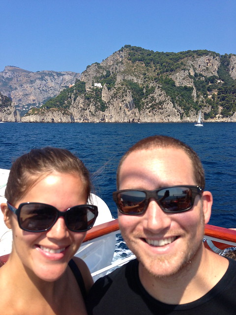 Cruising Along the Amalfi Coast, Italy