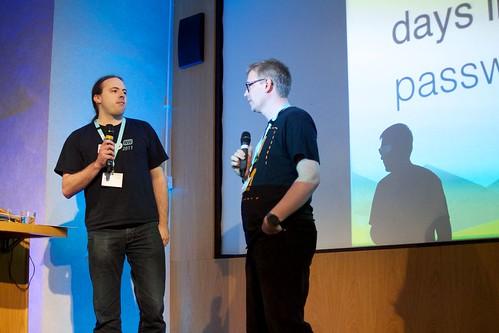 Rick & Jeremy close the conference