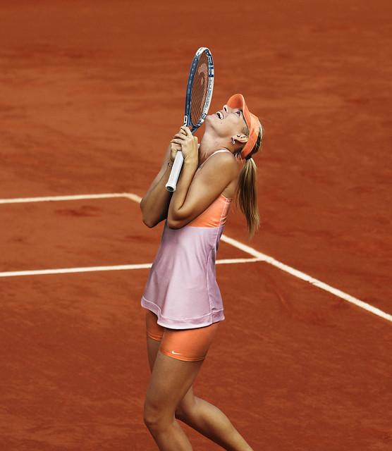 Roland Garros 2014: Maria Sharapova outfit