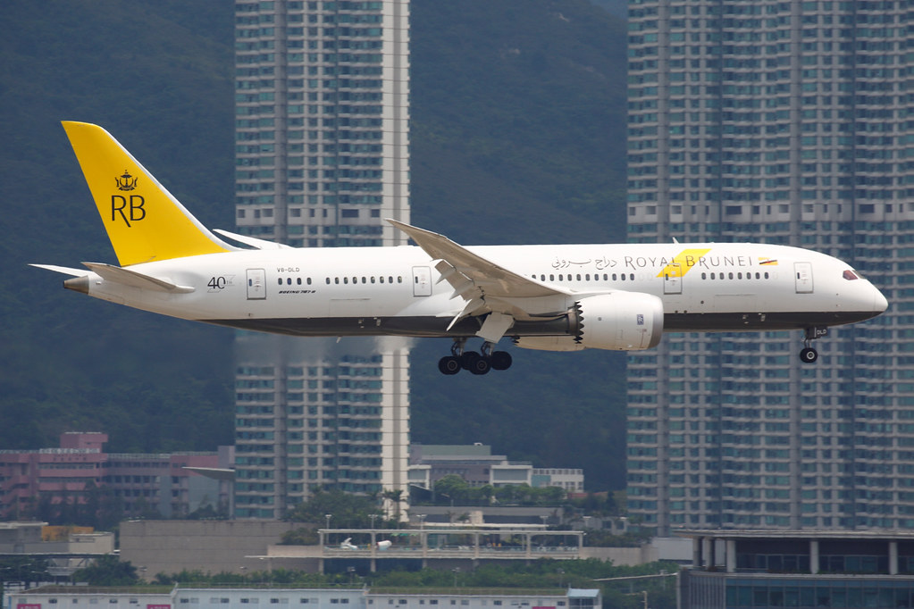 V8-DLD - B788 - Royal Brunei Airlines