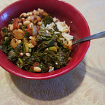 Nigerian Black-Eyed Peas & Greens