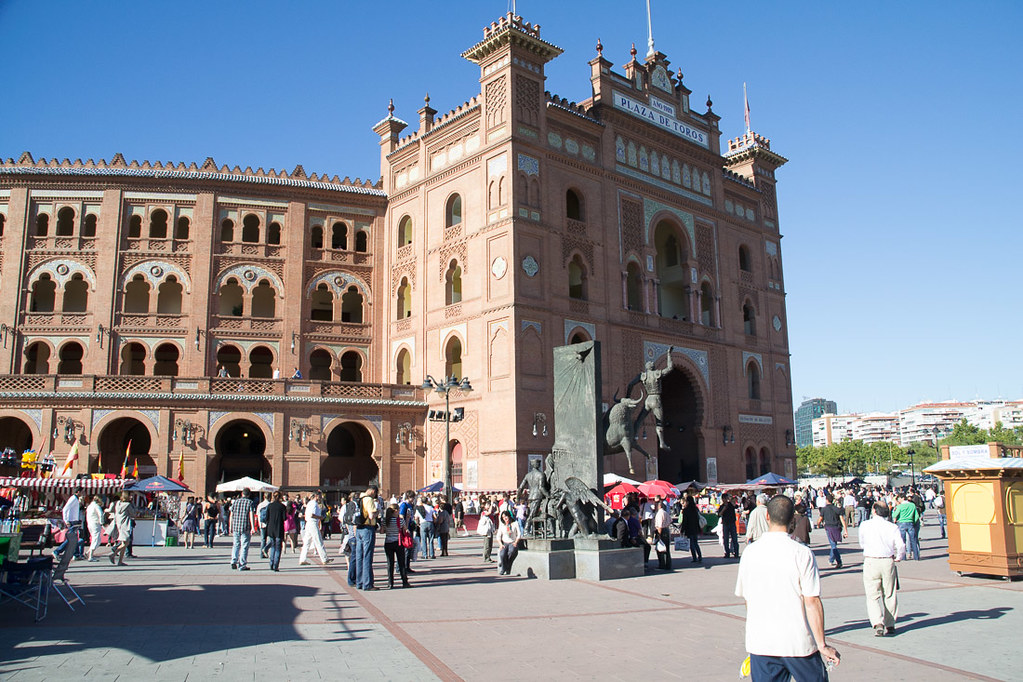Outside of Plaza de Toros