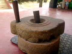 Dry grinder of pre electric era- திரிகை