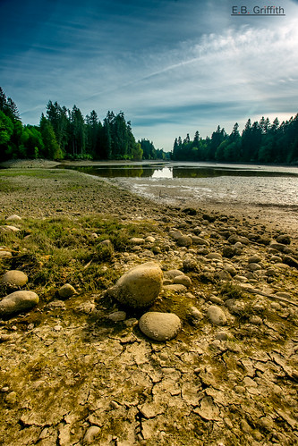 sky beach landscape bay washington scenic pebbles pugetsound woodardbay