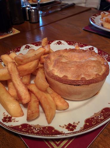 blue cheese and steak pie @ Craig Bar