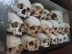 Murdered. The Killing Fields, Cambodia