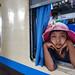 Young passenger - Mandalay, Myanmar by Maciej Dakowicz