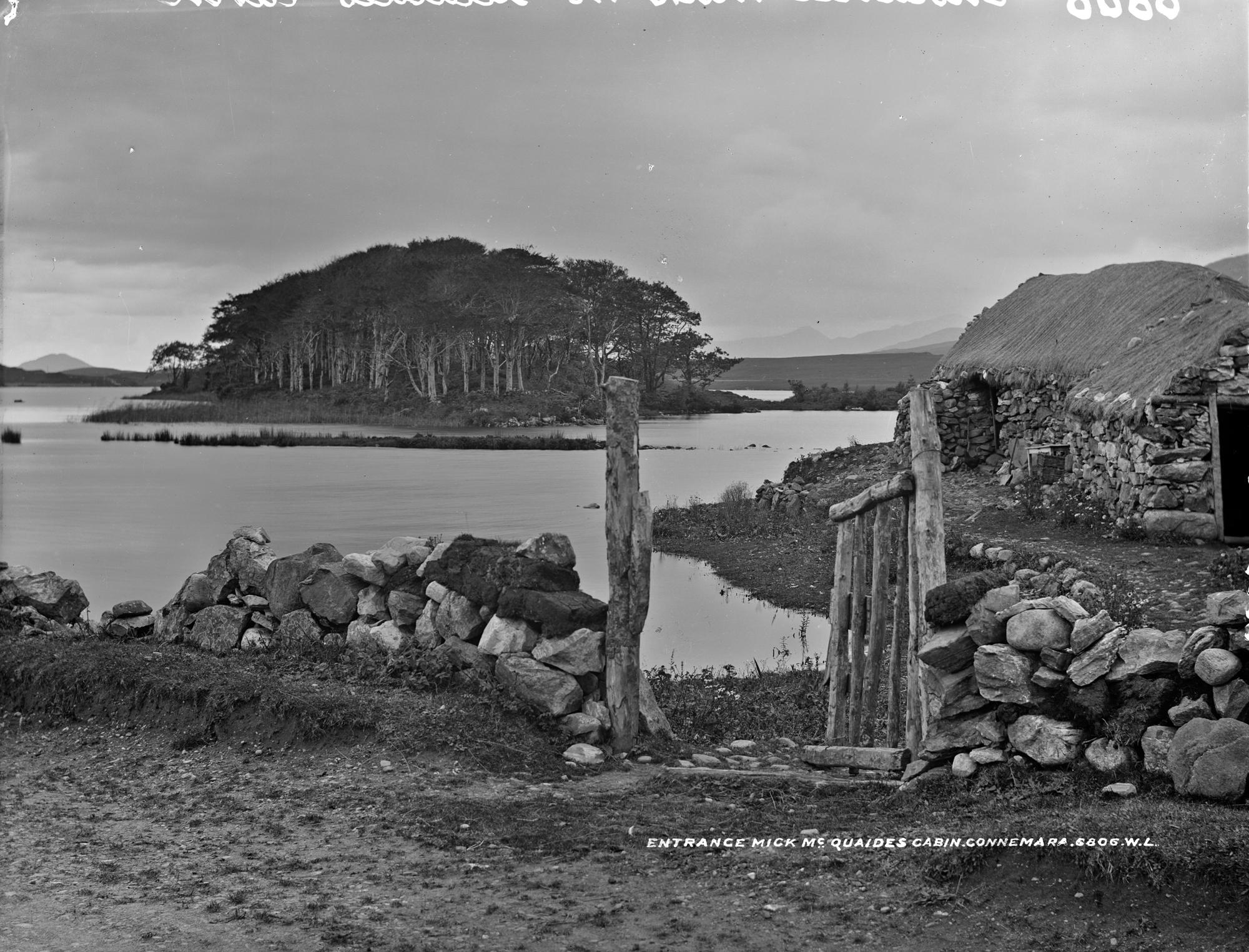 Mick McQuaid's Cabin, Connemara, Co. Galway