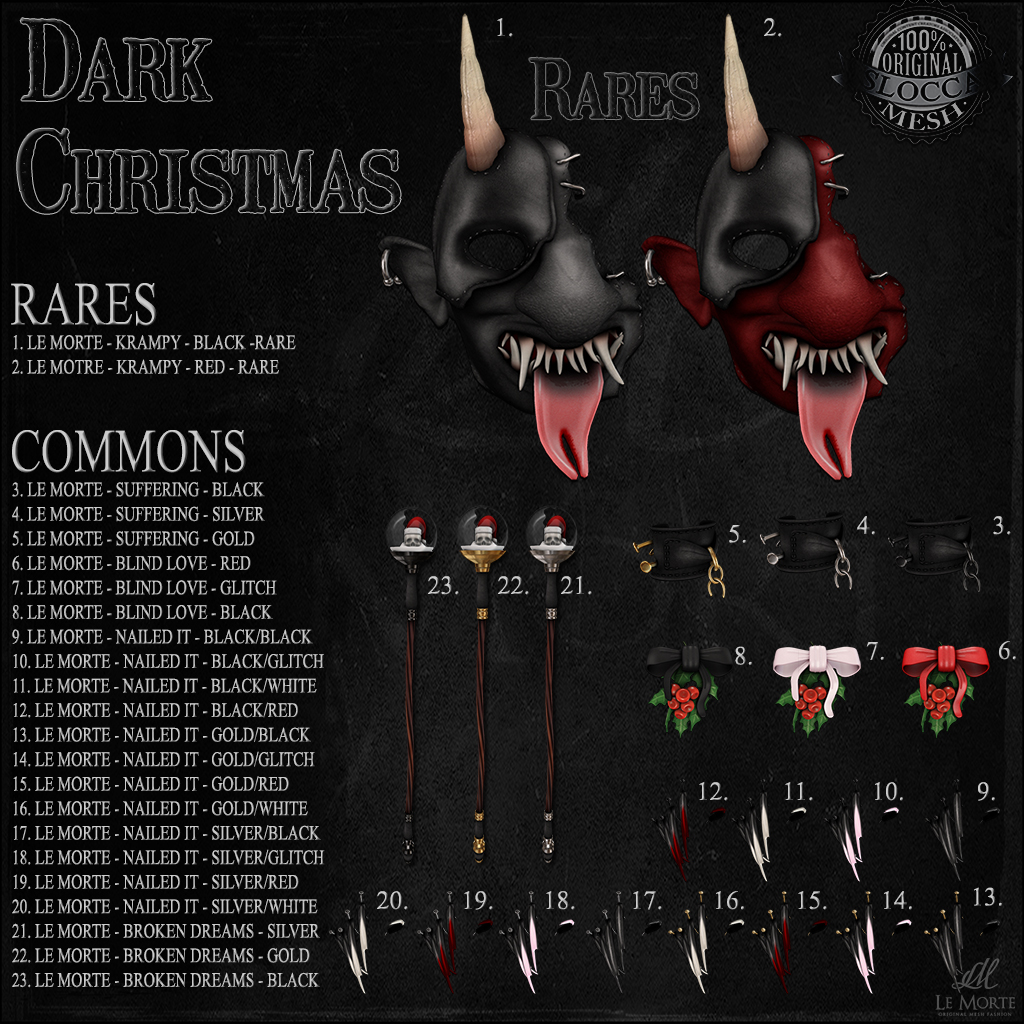 Le Morte - Dark Christmas - SecondLifeHub.com