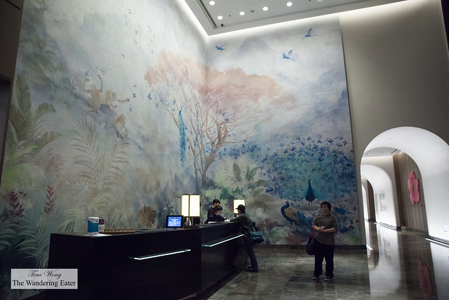 Lobby inspired by Taiwan's nature