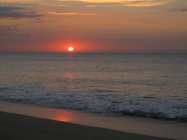 Sunrise on the Beach, Canon POWERSHOT G12