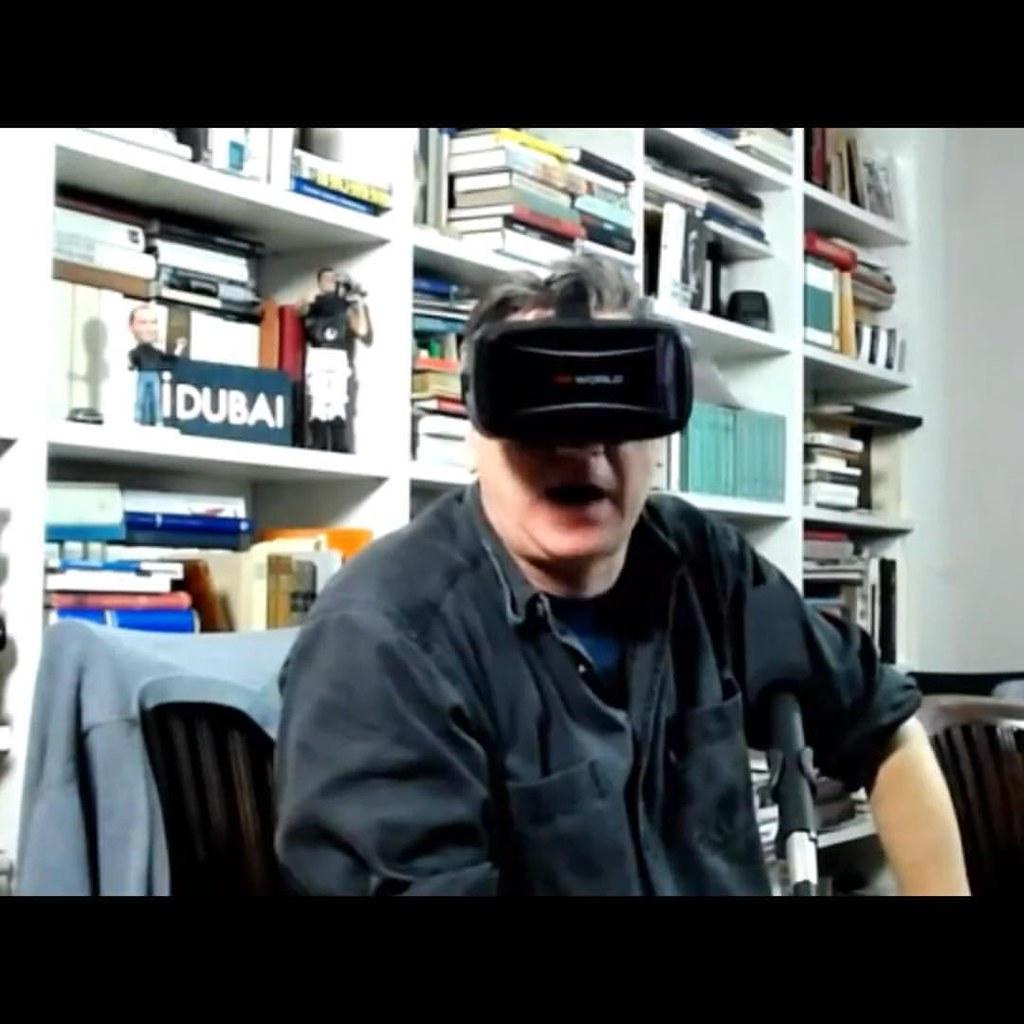 Voller Einsatz in der VR-Session #NEO16x