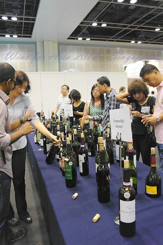singapore wine for asia 2012