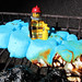 Peeps vs. LEGO : Blue Fire