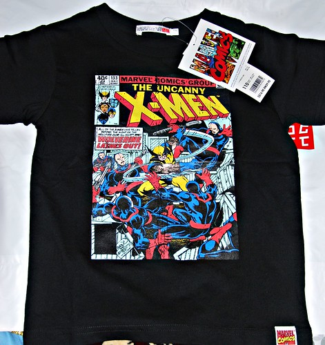 My son's new X-Men tee.....