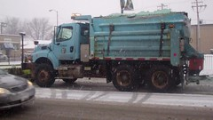 Chicago Snow Plow Truck