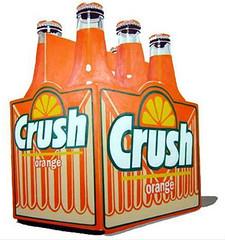 orange crush orange and white