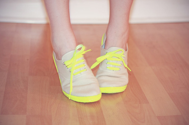 DIY Tennis Shoes
