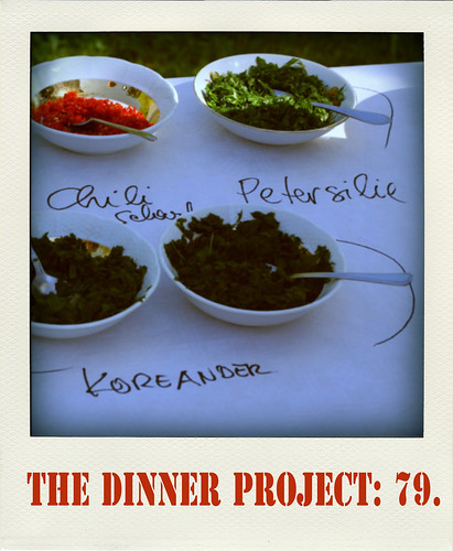 the dinner project: kw 18.