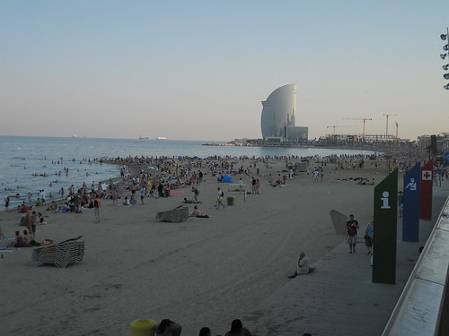 The beaches of Barcelona