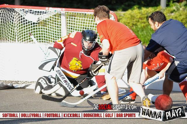 Crystal Rolls Street Hockey sponsored by Crystal City BID and hosted by DC Social Sports Club