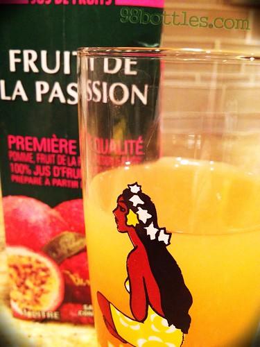 Passion Peeler cocktail recipe
